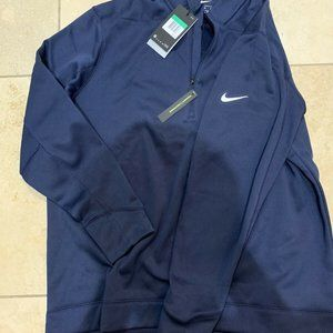 Nike Golf Therma Repel 1/4 Zip Pullover Navy AR260